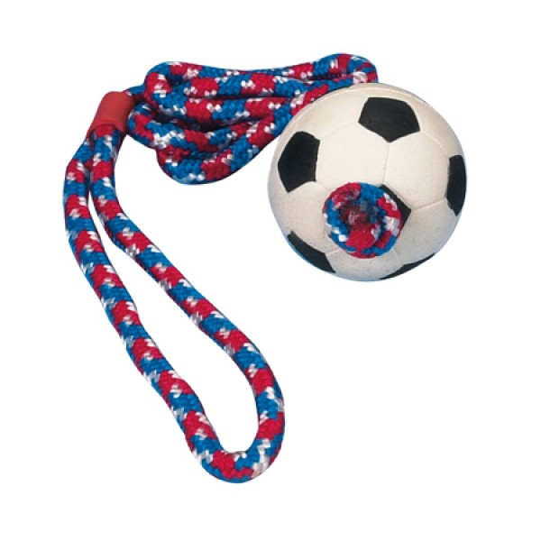 Trixie Ball am Seil Moosgummi 6cm