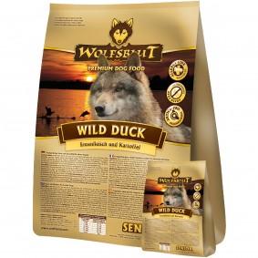 Wolfsblut Wild Duck Senior 15kg + 2kg Gratis