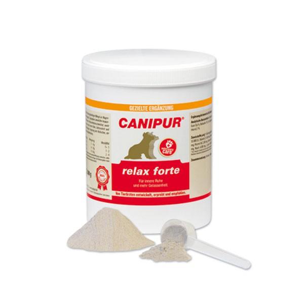 Canipur relax forte Ergänzungsfuttermittel für Hunde