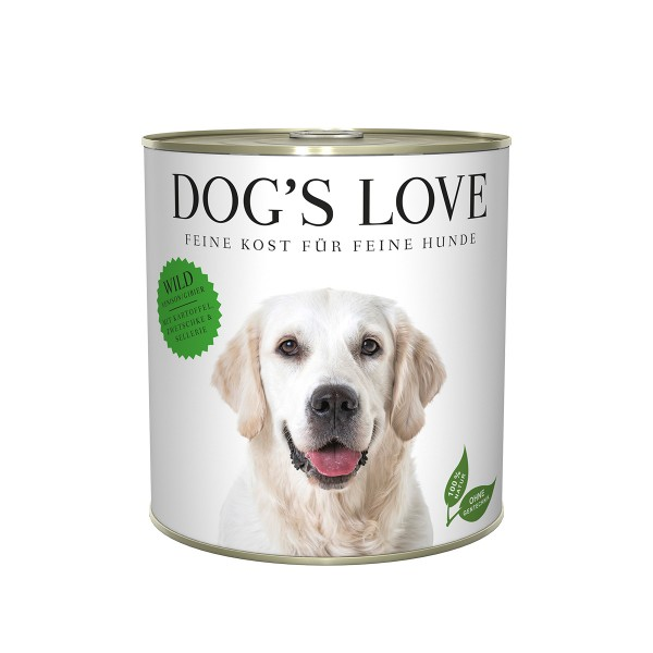 Dog's Love Classic Wild mit Kartoffel, Zwetschge und Sellerie