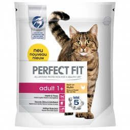 Perfect Fit Katzenfutter Adult 1+ reich an Huhn