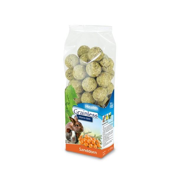 JR Grainless Health Vitamin-Balls Sanddorn 150g