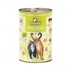 GranataPet Katze - Delicatessen Dose Fasan & Kaninchen
