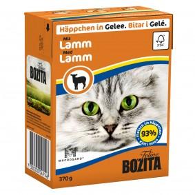 Wiesengrund Angebote Bozita Häppchen in Gelee mit Lamm 16x370g