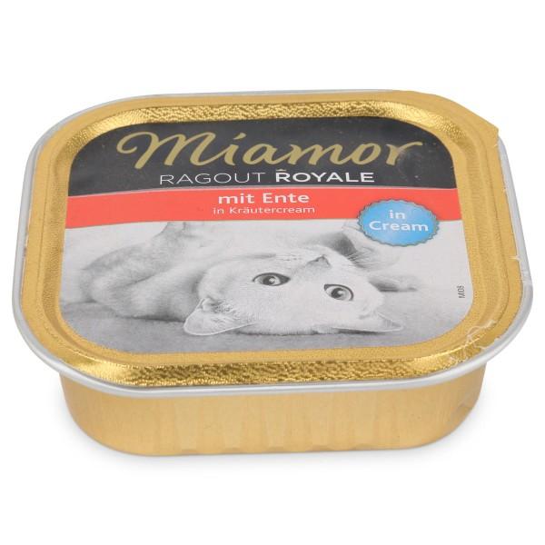 Miamor Katzenfutter Ragout Royale Ente in Kräutercream
