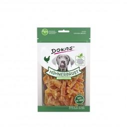 Dokas Hundesnack Hühnerbrust in Stückchen 70g