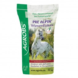Agrobs Pre Alpin Wiesenflakes 20kg