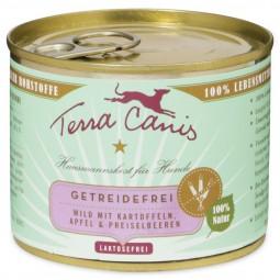 Terra Canis Wild mit Kartoffeln, Apfel und Preiselbeeren