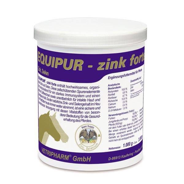 Vetripharm EQUIPUR zink forte 1kg