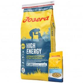 Josera Hundefutter High Energy 15kg  + Josera Knuspies 1,5kg GRATIS