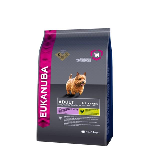 Eukanuba Hundefutter Erwachsene Kleine Rassen Huhn