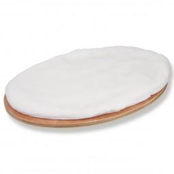 Kerbl Wandliegebrett oval Dolomit 50 x 35 x 1,5 cm