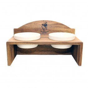 Wolters Sir Henry Doppelnapf teak