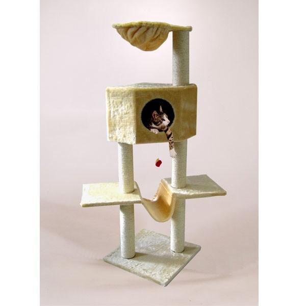 Silvio Design Klettertraum mit Hängematte beige