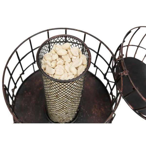 Trixie Erdnuss-Futterspender mit Schutzgitter 820 ml/ø 20 cm