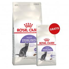 Royal Canin Katzenfutter Sterilised 37- 10kg+2kg gratis