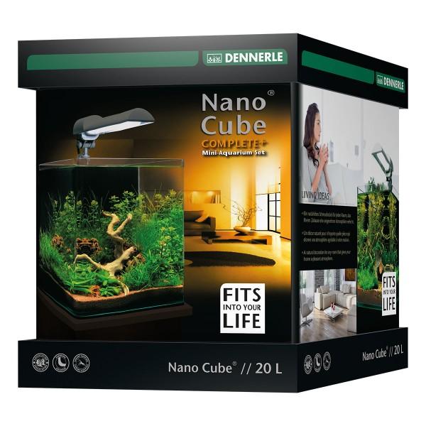 dennerle nanocube complete plus 20l aquarium set bei zooroyal. Black Bedroom Furniture Sets. Home Design Ideas
