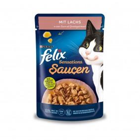 FELIX Sensations Saucen mit Lachs & Garnelengeschmack