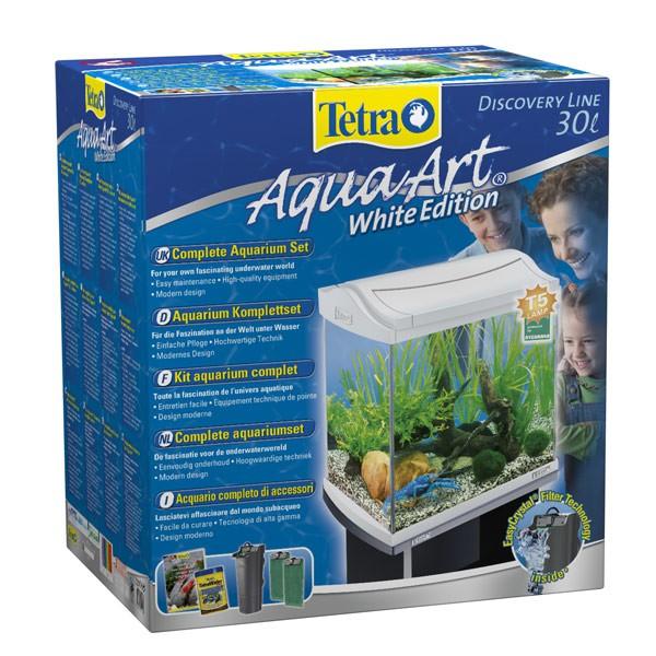 Tetra AquaArt Komplett-Set 30l weiß