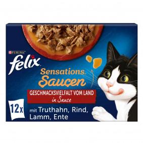 FELIX Sensations Saucen Geschmacksvielfalt vom Land 12x85g