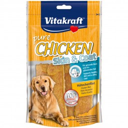 Vitakraft Hundesnack Chicken Skin & Coat 70g