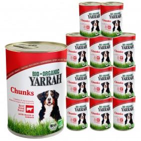 Yarrah Hundefutter Bio Bröckchen Rind, Brennessel, Tomate