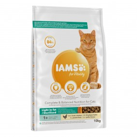 IAMS for Vitality Fettarm mit frischem Huhn 10kg