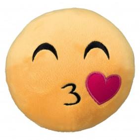 Trixie Plüsch-Smiley Küsschen
