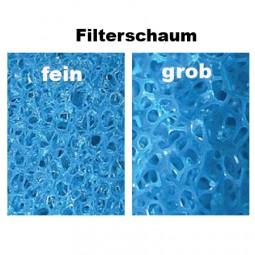 Blaue Filtermatte universal 50 x 50 x 5 cm
