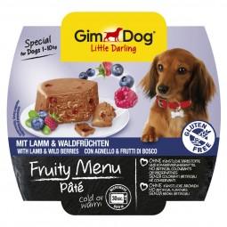 GimDog Little Darling Pâté Lamm und Waldfrüchten