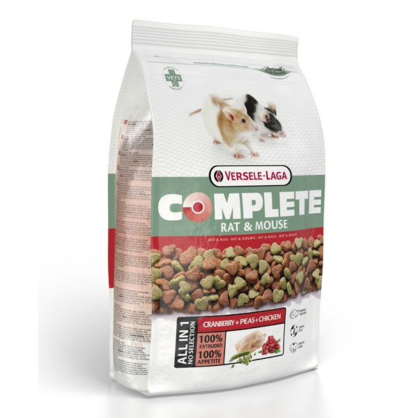 Versele Laga Nagerfutter Complete Rat & Mouse