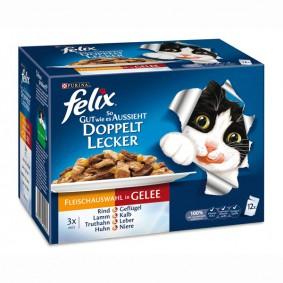Felix So gut wie es aussieht Doppelt lecker Fleisch Mix