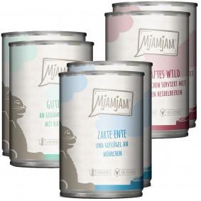 MjAMjAM Mixpaket II Wild&Kaninchen, Pute, Ente&Geflügel