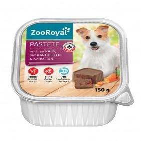 ZooRoyal Pastete reich an Kalb und Kartoffeln