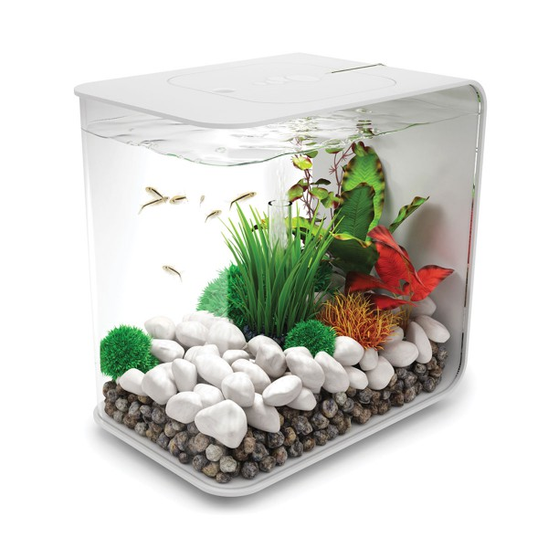 biOrb Flow LED Aquarium weiß - 30 Liter