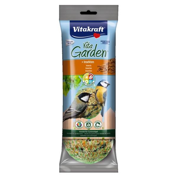 Vitakraft Vogelfutter Vita Garden Knödel mit Insekten - 4 Stück
