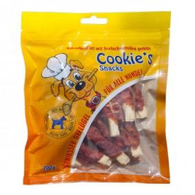 Hansepet Hundesnack Cookies Delikatess-Hähnchenfilet mit Seelachsstreifen 200 g