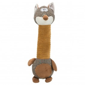 Trixie Hundespielzeug Fuchs mit Stimme 32 cm
