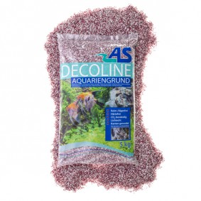 AS Decoline Aquarienkies rot-weiß 5 kg