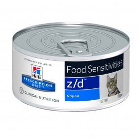 Hill's Prescription Diet z/d Food Sensitivities Katzenfutter Original 10+2 Ds GRATIS