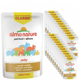 Almo Nature Classic in Jelly Cat Pouches 24x55g