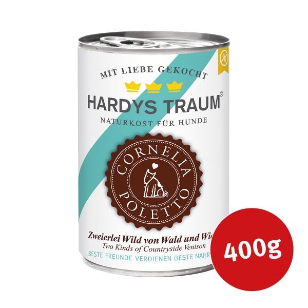 Hardys Traum Edition Cornelia Poletto Zweierlei Wild von Wald und Wiese - 400g