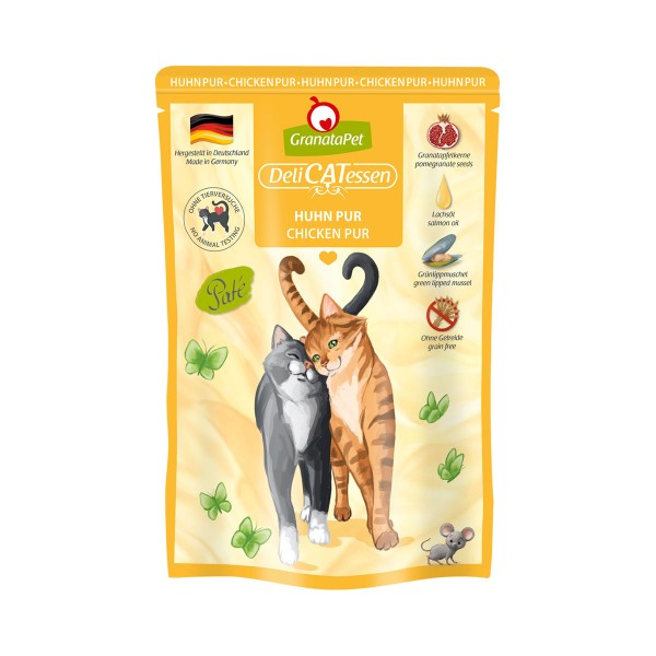 GranataPet Katze - Delicatessen Pouch Huhn PUR