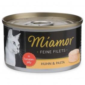 Miamor Feine Filets in Jelly Huhn und Pasta 100g Dose