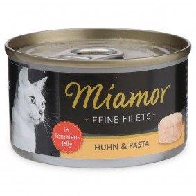 Miamor Katzenfutter Feine Filets in Jelly Huhn und Pasta