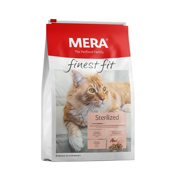MERA finest fit Trockenfutter Sterilized