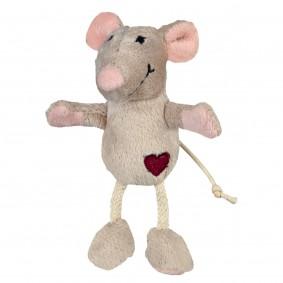 Trixie Plüsch-Maus mit Katzenminze