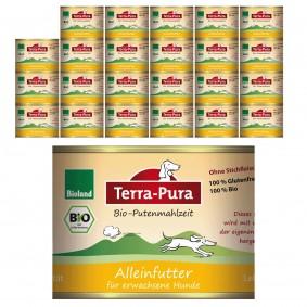 Terra Pura Hundefutter Bio-Putenmahlzeit Glutenfrei
