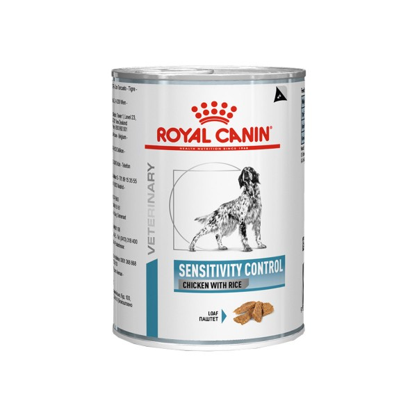 Royal Canin Vet Diet Nassfutter Sensitivity Control Huhn und Reis