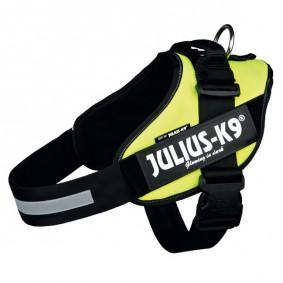 Julius-K9 Hundegeschirr IDC neongelb für große Tiere